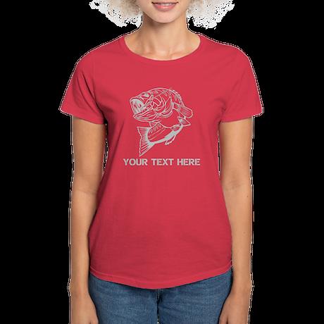 CUSTOMIZABLE BASS SHIRT Women's Dark T-Shirt