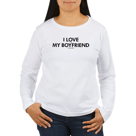 Personalized LOVE MY B Women's Long Sleeve T-Shirt