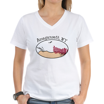 amagansett beach t-shirt