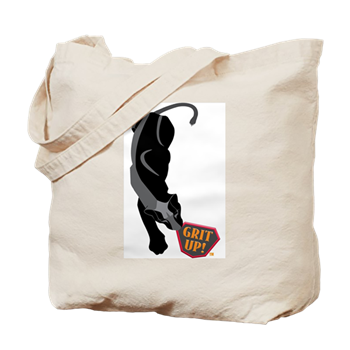 Black Jaguar with Grit Up™ Tote Bag
