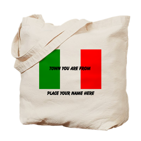 Personalized Flag Tote Bag