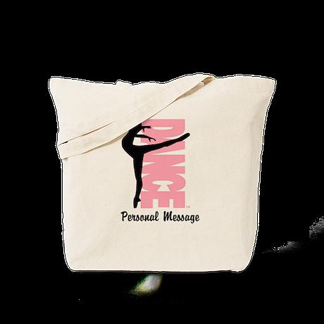 Personalized Beautiful Dancer Tote Bag