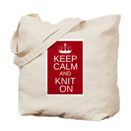 Customisable Keep Calm and Kn Tote Bag
