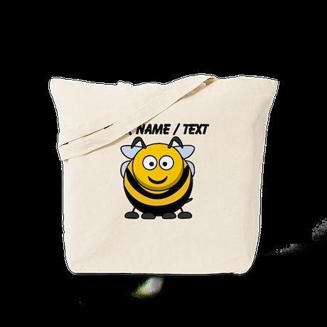 Custom Cartoon Bumble Bee Tote Bag