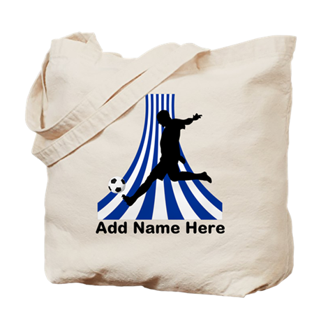 Personalized name soccer gift Tote Bag