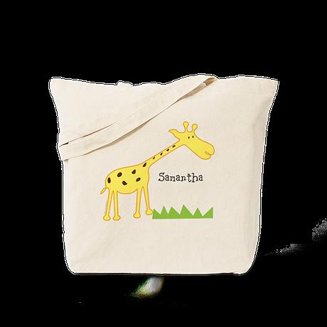 Custom Giraffe Tote Bag