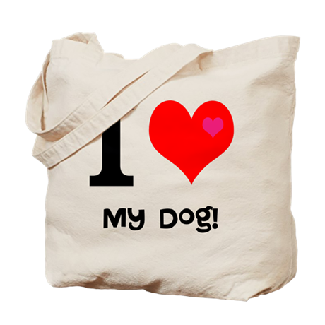 Personalised I Love... Tote Bag
