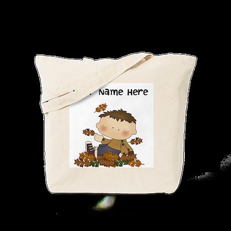 Boys Autumn Tote Bag