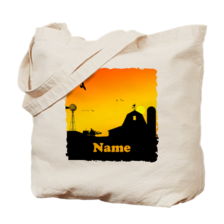 Sunrise at the Farm Tote Bag