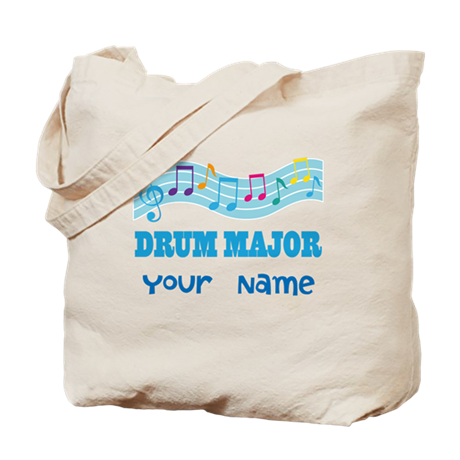 Personalized Drum Major Tote Bag
