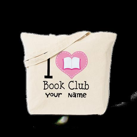 Personalized Book Club Tote Bag