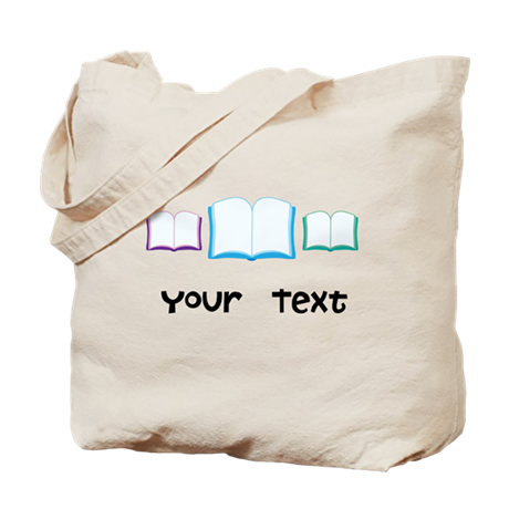 Personalized Books Reading Tote Bag