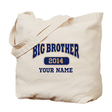 Personalized Big Brother Tote Bag