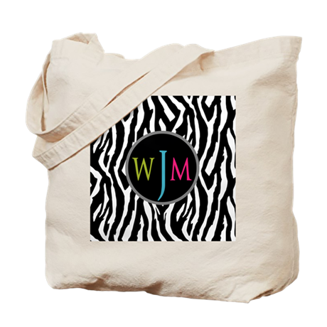 Stylish Monogram Tote Bag