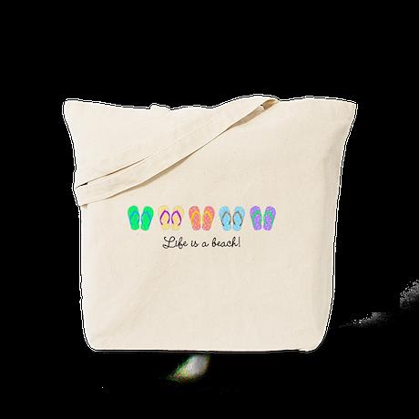 Personalize It, Flip Flop Tote Bag