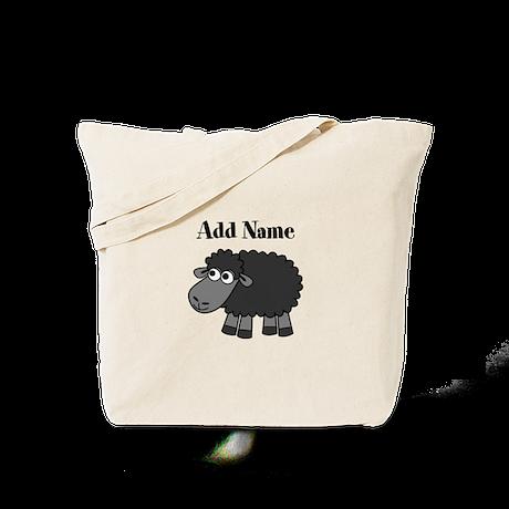 Black Sheep Add Name Tote Bag