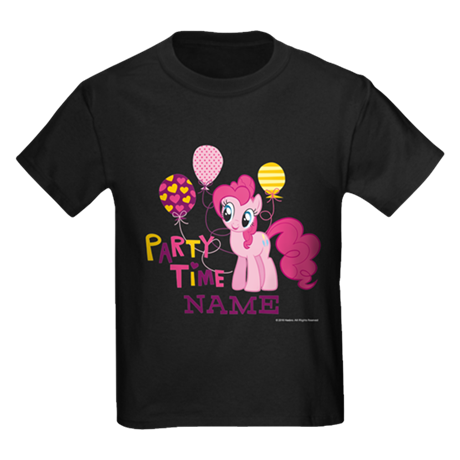 MLP Pinkie Pie Party Time Personalized Kids T-shirt