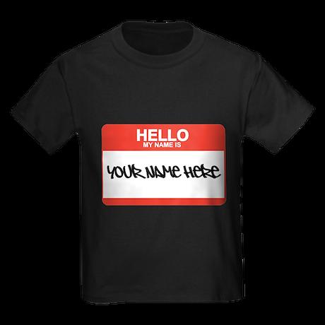 HELLO Kids Dark T-Shirt
