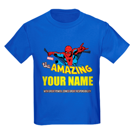 Personalized Spider-Man T-Shirt