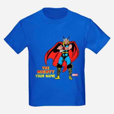 Thor Personalized Kid's T-shirt