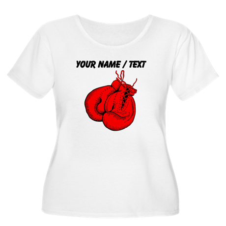 Custom boxing gloves plus size t shirt by for Custom boxing t shirts