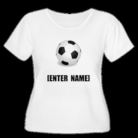 Soccer Personalize It! Plus Size T-Shirt