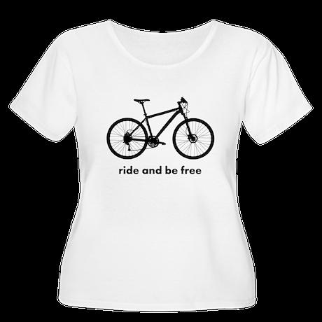 Custom Bicycle Plus Size T-Shirt
