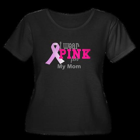 I wear pink Plus Size T-Shirt