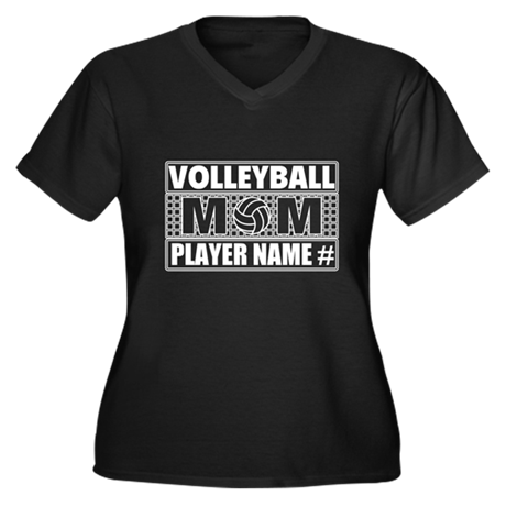 Personalized volleyball mom plus size t shirt by teecreation for Volleyball custom t shirts