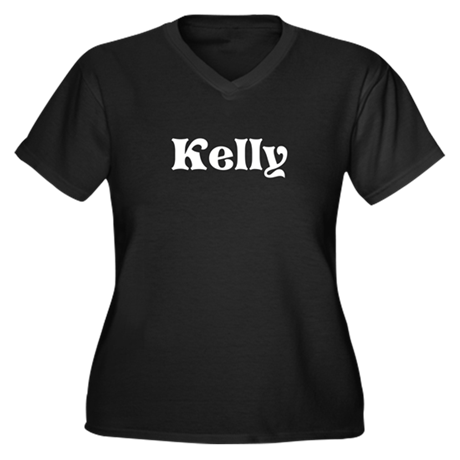 Custom Irish Name Women's Plus Size V-Neck T-Shirt