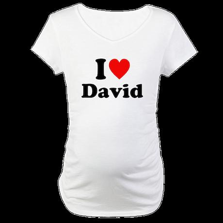 I Heart Custom TShirts: Maternity T-Shirt