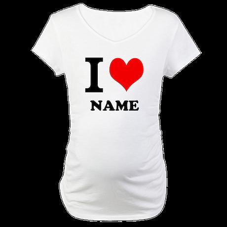 I Heart Maternity T-Shirt