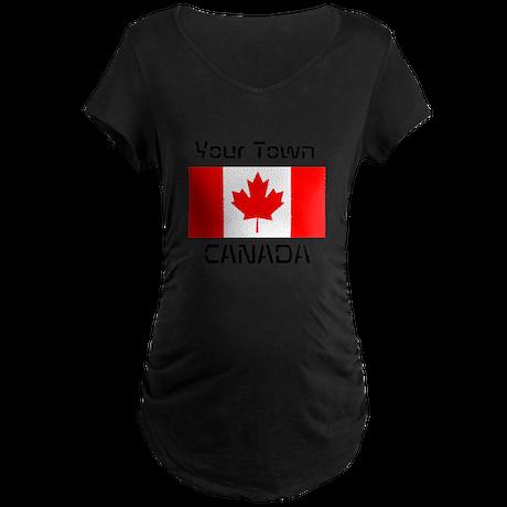 Canada Maternity Dark T-Shirt