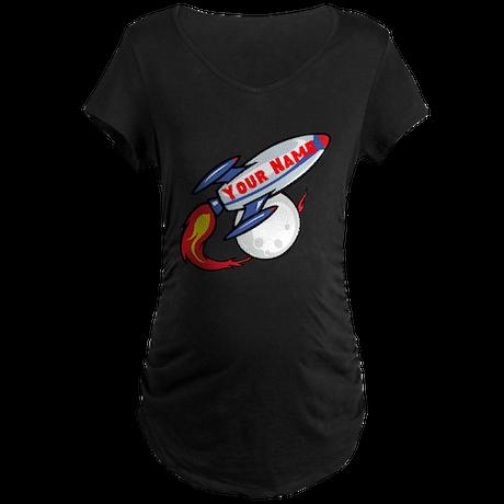 Personalized rocket Maternity Dark T-Shirt