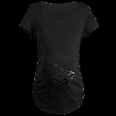 Steampunk Baby - Personalize Maternity T-Shirt