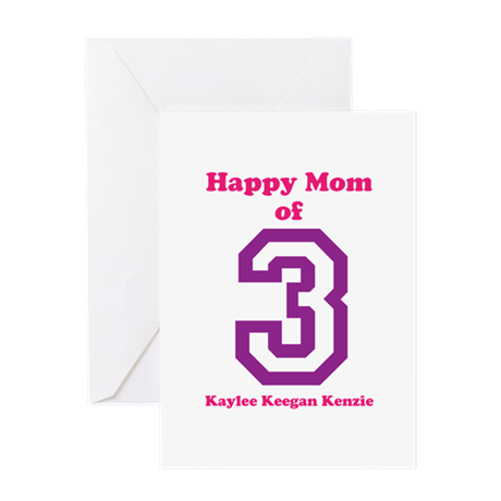 Personalized Mother Greeting Card