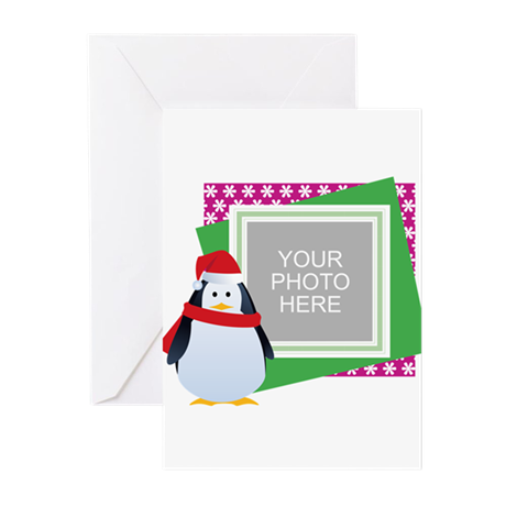 Personalized Christmas Greeting Cards (Pk of 20)