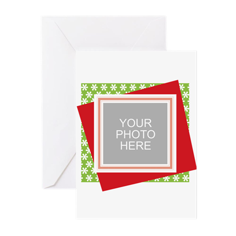Personalized Christmas Snowman Greeting Cards (Pk