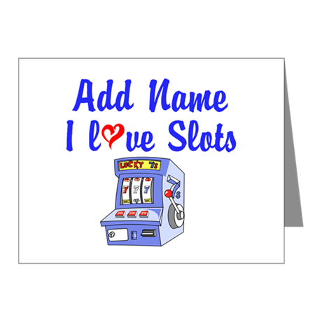 SLOT QUEEN Note Cards (Pk of 10)