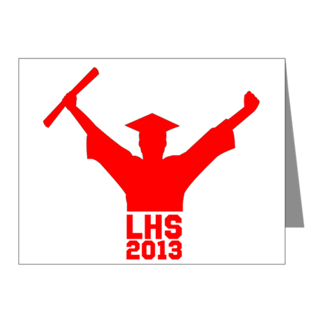 2013 Graduation Note Cards (Pk of 10)