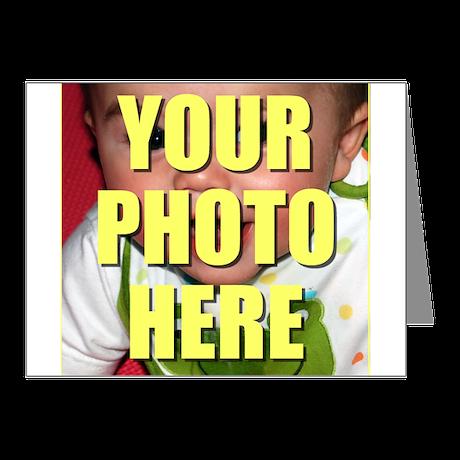 Custom Photo Note Cards (Pk of 10)