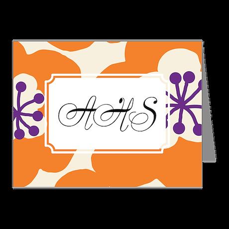Flower Orange Note Cards (Pk of 10)