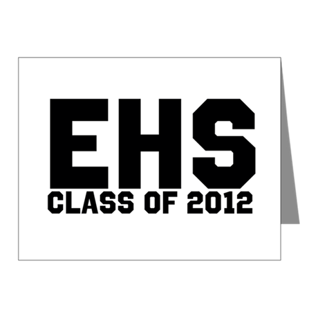 2012 Graduation Note Cards (Pk of 20)