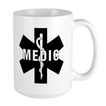 Medic Star of Life Two-Tone Coffee Mug