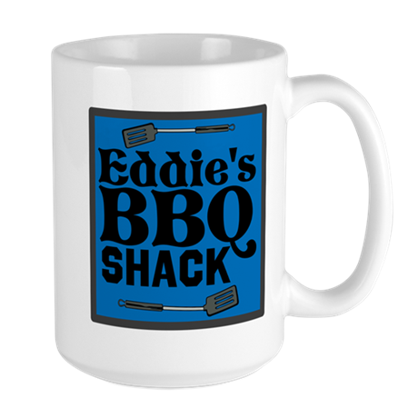 Personalized BBQ Large Mug