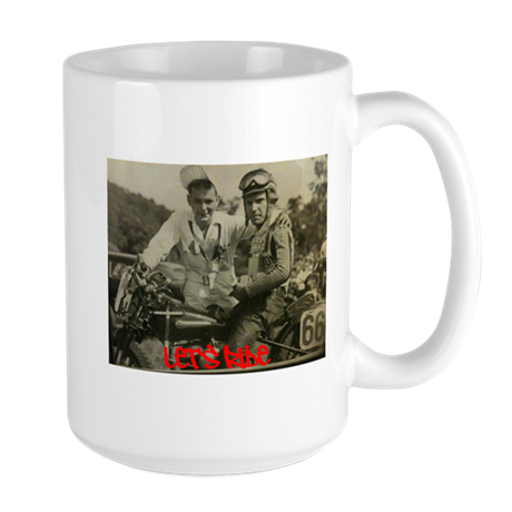 Let's Ride With #66 Large Mug