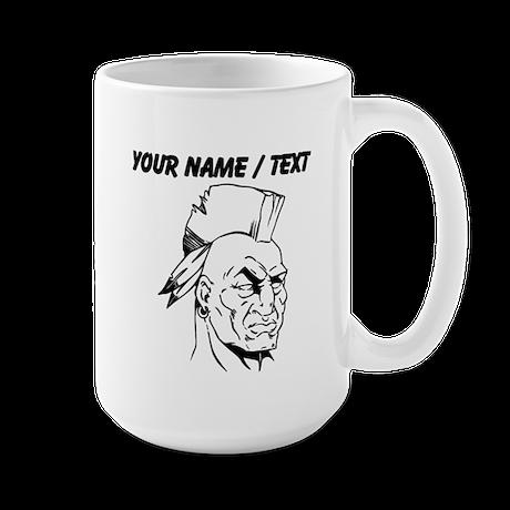 Custom Native American Warrior Mug