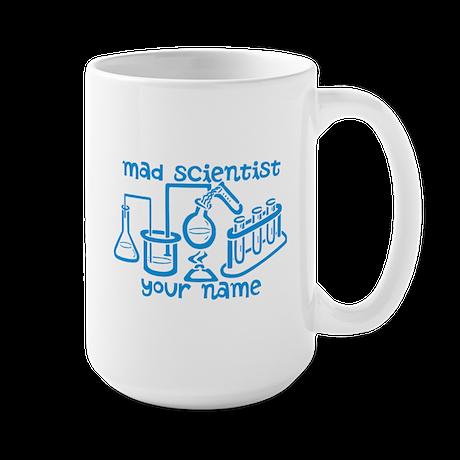Personalized Mad Scientist Mug