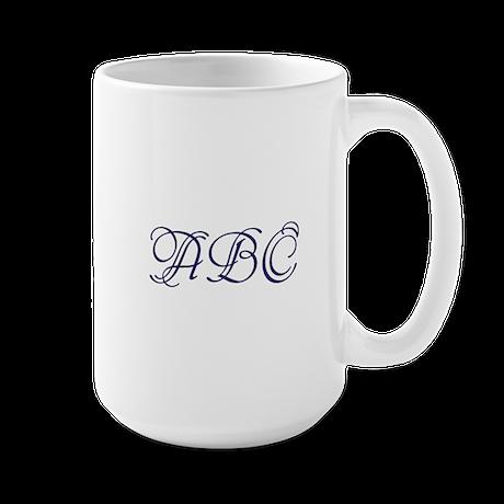 Monogram Large Mug