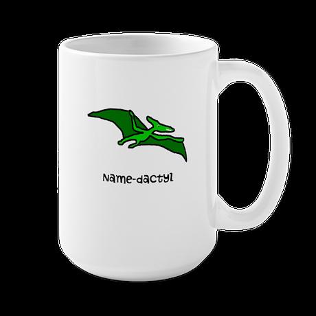 Name your own Pterodactyl! Large Mug